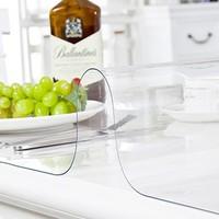 博虹 PVC防烫塑料桌垫 60*60cm 透明款