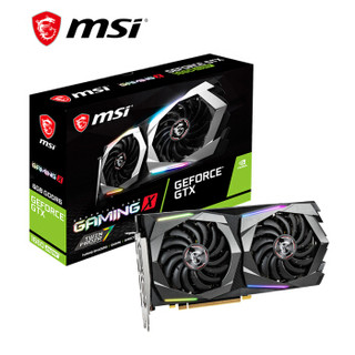 微星(MSI)魔龙 GeForce GTX 1660 SUPER GAMING X 6G 1660S旗舰款 电竞游戏台式电脑独立显卡