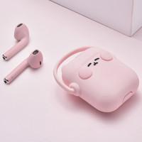 HALFSun/影巨人 蓝牙耳机 白色耳机+粉色保护壳