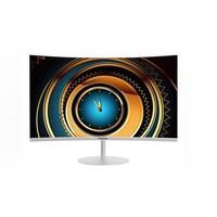 PANDA 熊猫 PC27FA2 27英寸曲面显示器(1800R、75Hz、99%sRGB)