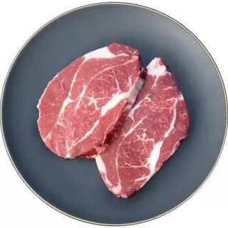 农夫好牛 澳洲黑安格斯上脑牛排 800g(4片装)