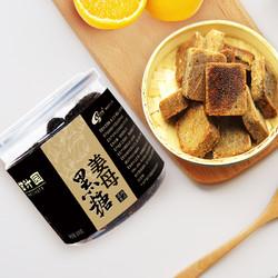甘汁园姜母黑糖块经期黑糖老姜汤红糖姜茶大姨妈姜母茶黑糖茶罐装