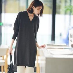 UNIQLO 优衣库 418625 女士3D精纺连衣裙