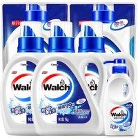 威露士有氧除菌洗衣液6套装(瓶装1kg*3+袋装500g*2+内衣净300g)