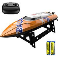 优迪UDI907遥控船双电版 儿童遥控水上快艇+凑单品