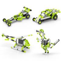 欧洲进口 电动30合1儿童拼装积木玩具 可拼30款造型 配电机驱动