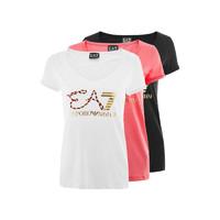 EMPORIO ARMANI阿玛尼EA7女士短袖T恤3ZTT86 TJ52Z