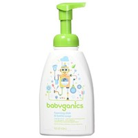 BabyGanics 泡沫餐具皂 3 瓶装 *3件