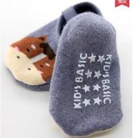 开心伢伢  宝宝防滑加厚地板袜 3双