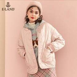 ELAND EEJP949C1M 秋冬长款棉服