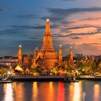 正国庆票!非廉航直飞!成都-泰国曼谷往返含税机票