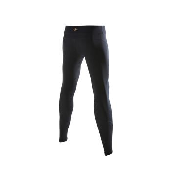 bmai 必迈 FRPE013 男女紧身衣瑜伽马拉松压缩裤健身裤 黑/耀金-男 L