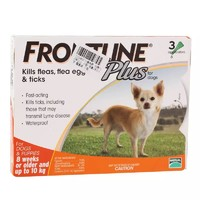 FRONTLINE 福来恩 宠物驱虫滴剂 小型犬 3支装 *2件