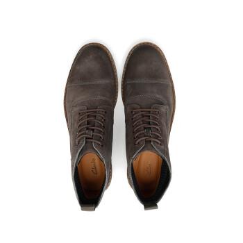 Clarks Blackford Cap 261272377 英伦复古短靴马丁靴