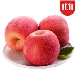 妙趣果语 红富士苹果 含箱500g 铂金精选装 单果75mm *10件+凑单品