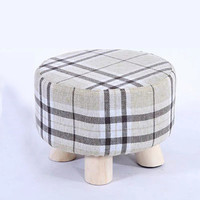 联圆世家 木质小圆凳 直径28cm