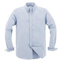 VANCL 凡客诚品 15796652 男士长袖休闲衬衫 海军蓝 L