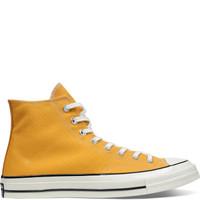 CONVERSE 匡威 all star 70s系列 中性运动帆布鞋 162054C 黄色 35