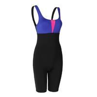 DECATHLON 迪卡侬 女子连体式泳衣 8402426 炫色拼接款 S