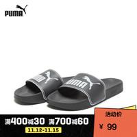 PUMA彪马官方 男女同款拖鞋Leadcat 360263 石灰色-彪马白 24 35.5