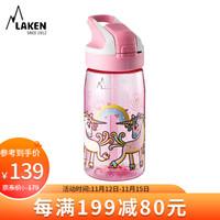 LAKEN拉肯 儿童宝宝水杯  450ML 独角兽