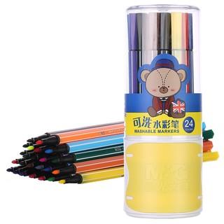 M&G 晨光 ACPN03A2 小熊哈里系列 水彩笔 24色 *8件