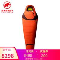 MAMMUT/猛犸象 Altitude Down 户外高海拔鹅绒填充5季高保暖睡袋 深橘色 深橘色 均码
