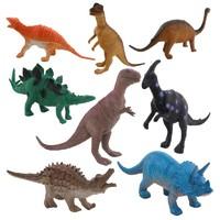 儿童恐龙模型玩具 袋装8只装