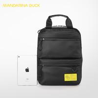 Mandarina duck/意大利鸳鸯休闲时尚男士简约大气双肩背包手拎包