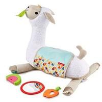 费雪(Fisher-Price)益智玩具婴儿玩具 感官启蒙之四合一萌宠羊驼趴趴乐 GHJ03