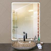玉晶 浴室镜子 直角 30*40cm 可挂可粘