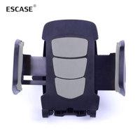 ESCASE 车载手机支架 出风口支架汽车用品 适用4.5-6英寸 灰色ES-CH-06 *12件