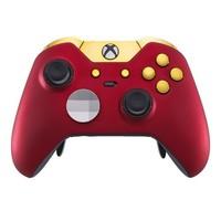 精英控制器 - 红色天鹅绒/金色(Xbox One)