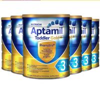 Aptamil 爱他美 金装 婴儿奶粉 3段 900g *6件