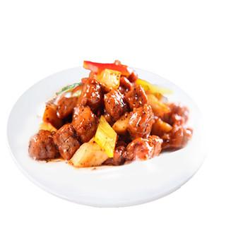 限地区 : HONDO BEEF 恒都 黑椒牛肉粒 500g *5件