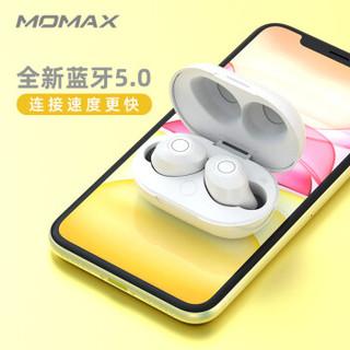 MOMAX 摩米士 真无线蓝牙耳机 双耳入耳式 珍珠白