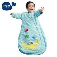 misslele 米乐鱼 婴儿一体式睡袋  *2件