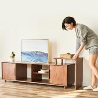 8H Tree 优雅全实木电视柜 标准款 160*40*45cm