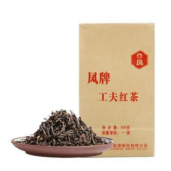 凤牌 云南凤庆 滇红茶 茶叶 浓香型 2020年 一级工夫茶 奶茶调饮 500克/包