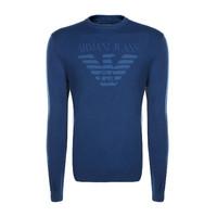 [支持自提]ARMANI JEANS/阿玛尼·牛仔阿玛尼 新品男款套头针织衫 6Y6MD3/6MFJZ1583