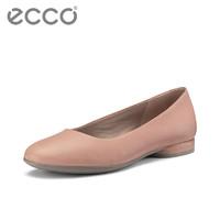ECCO 爱步 208003 女平底乐福鞋女软底 安妮208003 40