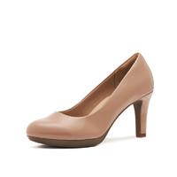 Clarks 其乐 26146726 女士 Adriel Viola 浅口细高跟鞋 淡粉色 41
