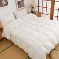 SHIKOKU 四国纤维贩卖 日本进口100支纯棉95%白鹅绒冬被