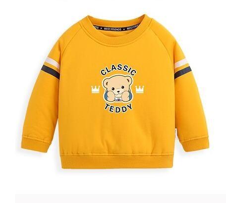 CLASSIC TEDDY 精典泰迪 儿童加厚夹棉卫衣