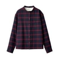 MUJI 无印良品 29AC776 女式法兰绒格纹衬衫