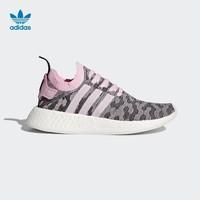 adidas 三叶草 NMD_R2 PK W 女子运动鞋
