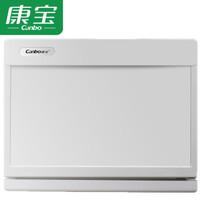康宝(Canbo)消毒柜 毛巾小型商用 台式家用 保洁柜衣服内衣玩具毛巾柜 MPR18N-1 白色