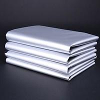 贝绒 双面银色窗帘 1.4*1.0米 不含杆 送S钩 *4件