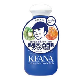 日本 石泽研究所(ishizawa)KEANA毛穴黑头抚子角质洁面粉洗颜粉 100g/瓶 男士 *3件