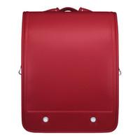 KOKUYO/国誉 WSG-SBR01R 儿童学习用品双肩背包减压护脊防水书包 红 *5件